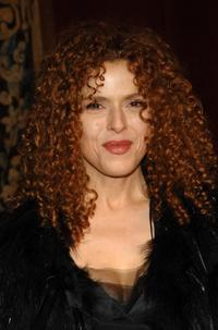 Bernadette Peters at the 7th on sale black-tie gala at 69th Regiment Armory.