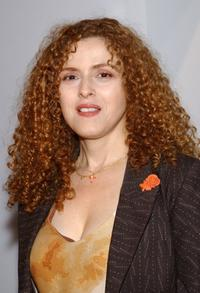 Bernadette Peters at the Olympus Fashion Week Spring 2005.