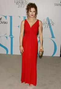 Bernadette Peters at the 25th Anniversary of the Annual CFDA Fashion Awards.