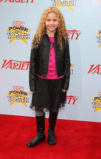 Isabella Acres at the Variety's 3rd Annual Power of Youth Event in California.