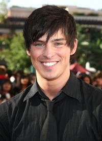 Adam Gregory at the Popstar Magazine's premiere of The G-Girls Music Video.