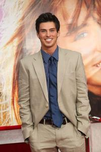 Adam Gregory at the premiere of