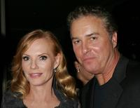 Marg Helgenberger and William L. Petersen at the Museum of Television and Radio's Annual Los Angeles gala.