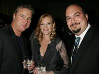 William L. Petersen, Marg Helgenberger and Producer Anthony E. Zuiker at the Museum of Television and Radio's Annual Los Angeles gala.