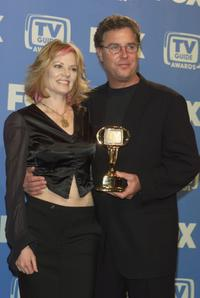 Marg Hellgenberger and William L. Petersen at the TV Guide Awards.