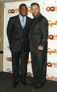 Sammy Sosa and William L. Petersen at the 2003 GQ Men of the Year Awards.