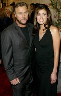 William L. Petersen and Guest at the 2003 GQ Men of the Year Awards.
