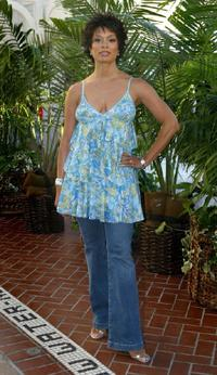 Valarie Pettiford at the UPN's TCA Party.