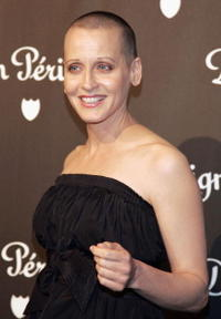 Lori Petty at the International Launch of Dom Perignon Rose Vintage 1996 Champagne.