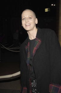 Lori Petty at the opening celebration of Gregory Colbert's Exhibition