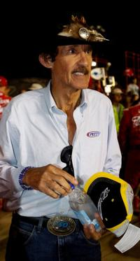 Richard Petty at the Chevy Rock and Roll 400.