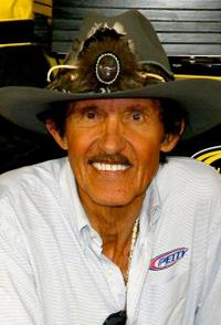 Richard Petty at the NASCAR Sprint Cup Series Pep Boys Auto 500.