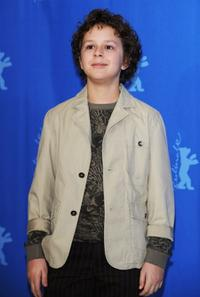 Aidan Gould at the 58th Berlinale Film Festival.