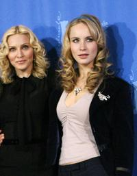 Madonna and Holly Weston at the photocall of