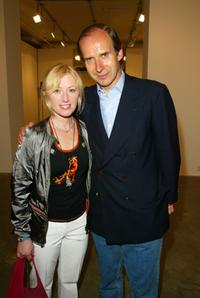 Cindy Sherman and Simone de Pury at the Phillips de Pury & Luxembourg Art auction and party during the Tribeca Film Festival.