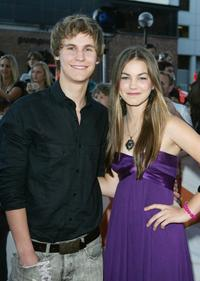 Rhys Wakefield and Charlotte Best at the Nickelodeon Australian Kids Choice Awards 2007.