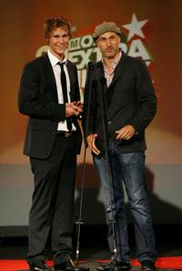 Rhys Wakefield and Director Craig Gillespie at the 2008 Movie Extra FilmInk Awards.