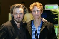 Matthew Newton and Rhys Wakefield at the