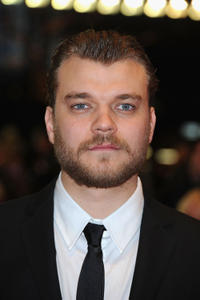 Pilou Asbaek at the premiere of