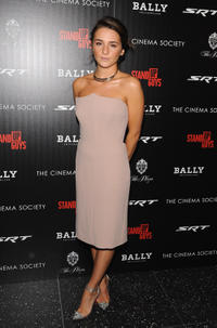 Addison Timlin at the New York premiere of