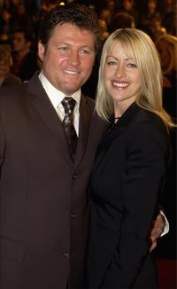 Peter Phelps and Roxanne at the Australian TV Week Logie Awards.