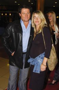 Peter Phelps and Donna at the red carpet of the opening night of