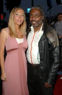 Franklyn Ajaye and Ariane A. Kays at the premiere of