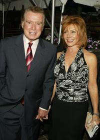 Regis Philbin and Joy Philbin at the