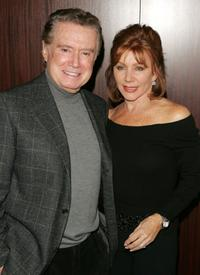Regis Philbin and Joy Philbin at the special screening of