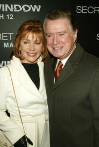Joy Philbin and Regis Philbin at the premiere of