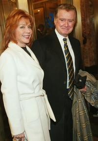 Joy Philbin and Regis Philbin at the opening of