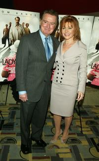 Regis Philbin and Joy Philbin at the private screening of