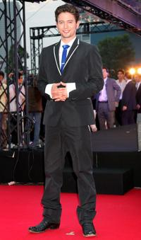 Jackson Rathbone at the Tokyo premiere of