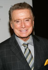 Regis Philbin at the Cinema Society and The Wall Street Journal Weekend Edition screening of