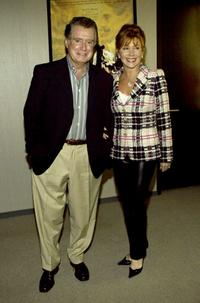 Regis Philbin and his wife Joy at the special screening of
