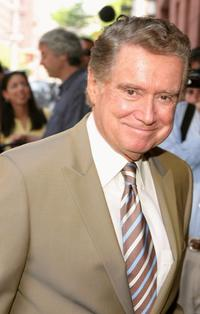 Regis Philbin at the Memorial Service for Alan King.