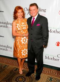 Joy Philbin and Regis Philbin at the 30th Annual Outstanding Mother Awards.