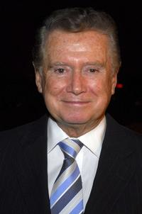 Regis Philbin at the party of Steve Tyrell.