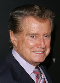 Regis Philbin at the special screening of
