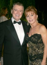 Regis Philbin and his wife Joy Philbin at the 2007 Vanity Fair Oscar Party.