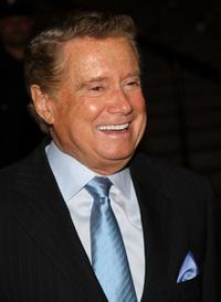 Regis Philbin at the Vanity Fair party.