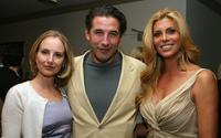 Chynna Phillips, William Baldwin and Candis Cayne at the after party of the premiere of