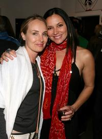 Chynna Phillips and Sue Ling Hyde at the Ghettogloss Presents