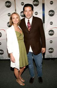 Chynna Phillips and William Baldwin at the ABC Upfront presentation.