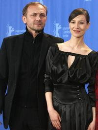 Andrzej Chyra and Maja Ostaszewska at the photocall of