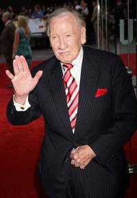 Leslie Phillips at the UK premiere of