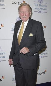 Leslie Phillips at the 5th Annual British Soap Awards.