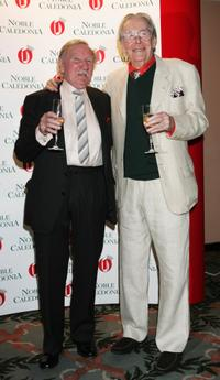Leslie Phillips and Peter O'Toole at the Oldie Magazine's Oldie of the Year Awards 2007.