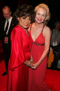 Eartha Kitt and Michelle Phillips at The Heart Truth - Red Dress Fall 2006 fashion show.