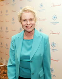 Michelle Phillips at the first annual UNICEF Snowflake Ball.